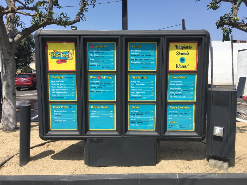 Drive Through Restaurant Menu Boards | Fullerton CA
