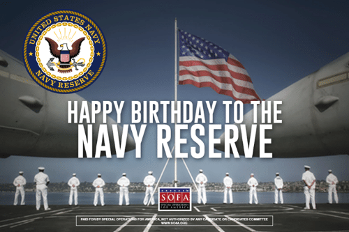 Navy Reserve Birthday