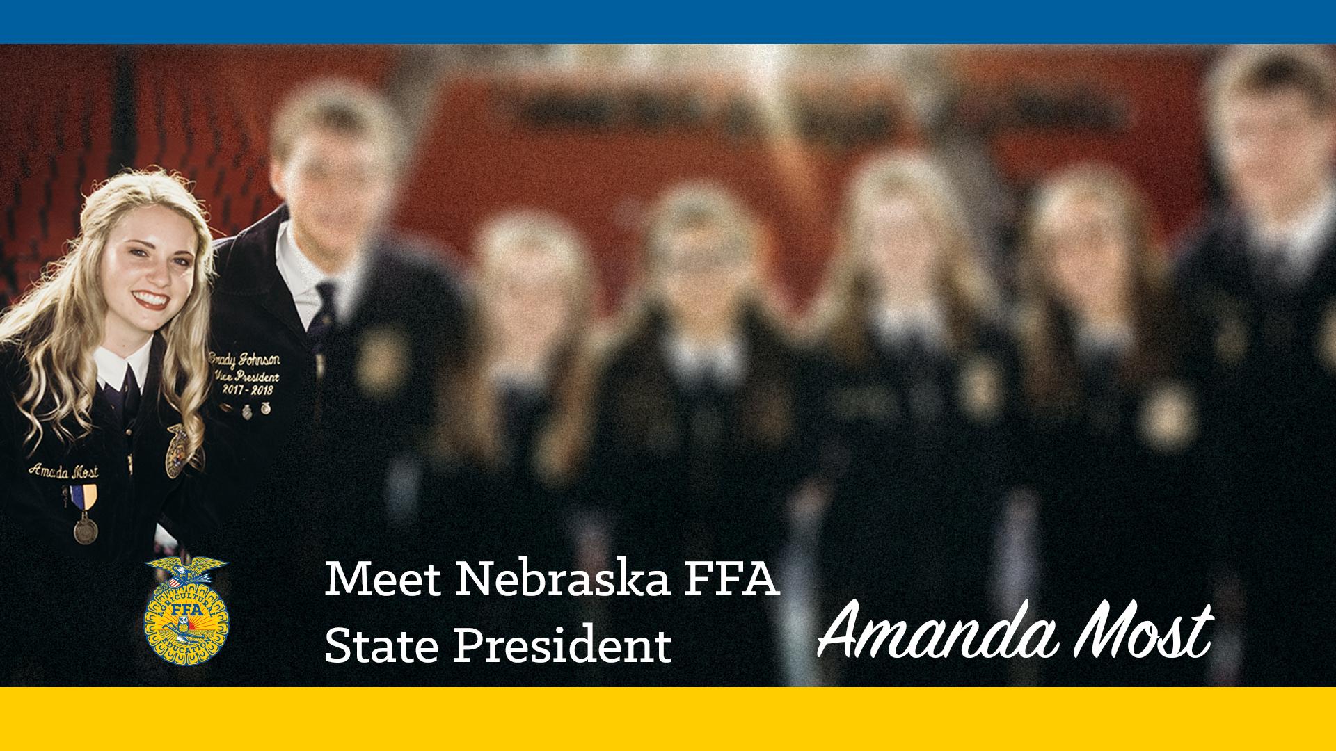 Meet Your 2018-19 Nebraska FFA President: Amanda Most