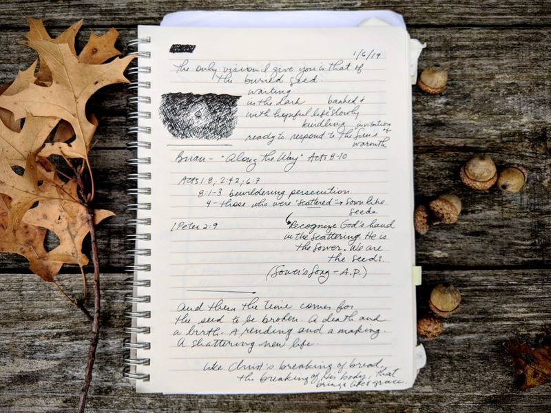 Sermon Journal