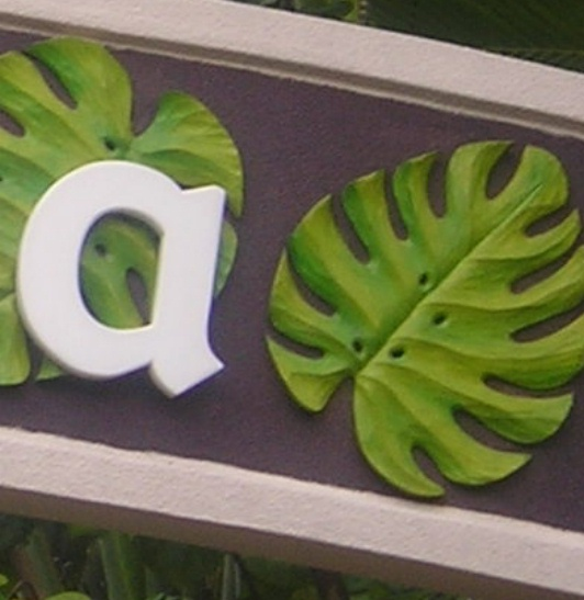 M5444 - Cutout Letters and Hand Carved Sculpture Appliqués