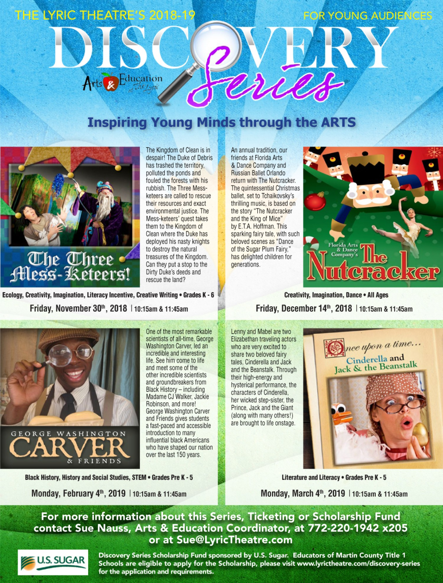 Lyric Theatre presents: The Nutcracker ~ Discovery Series for Young Audiences (School Show)