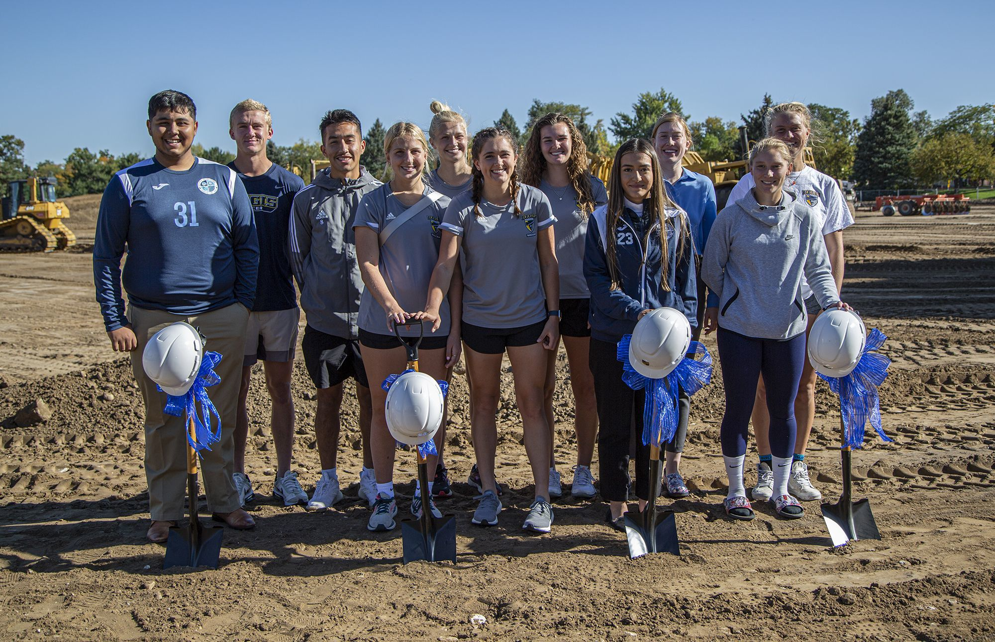 New fields will serve Regis University and Arrupe Jesuit High School athletes