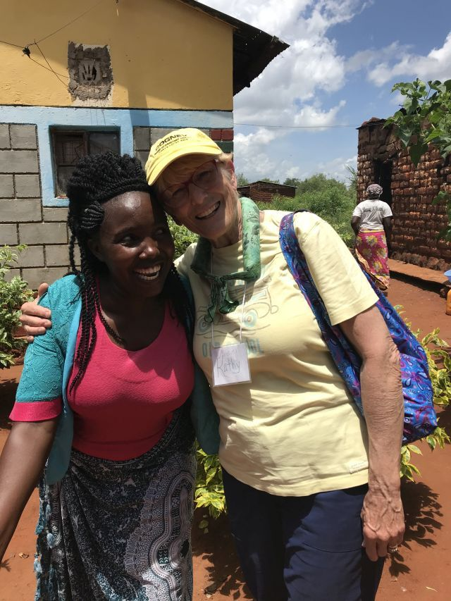 Several weeks ago… In Africa - By Kathryn Scott - Lewis