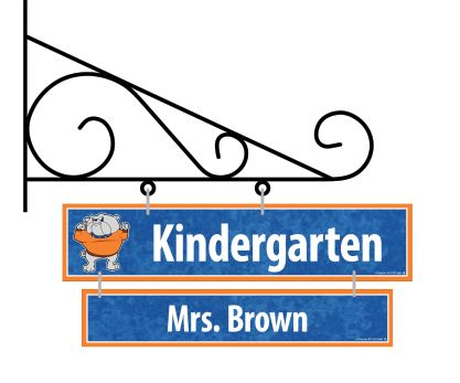 Room & Teacher Sign Package