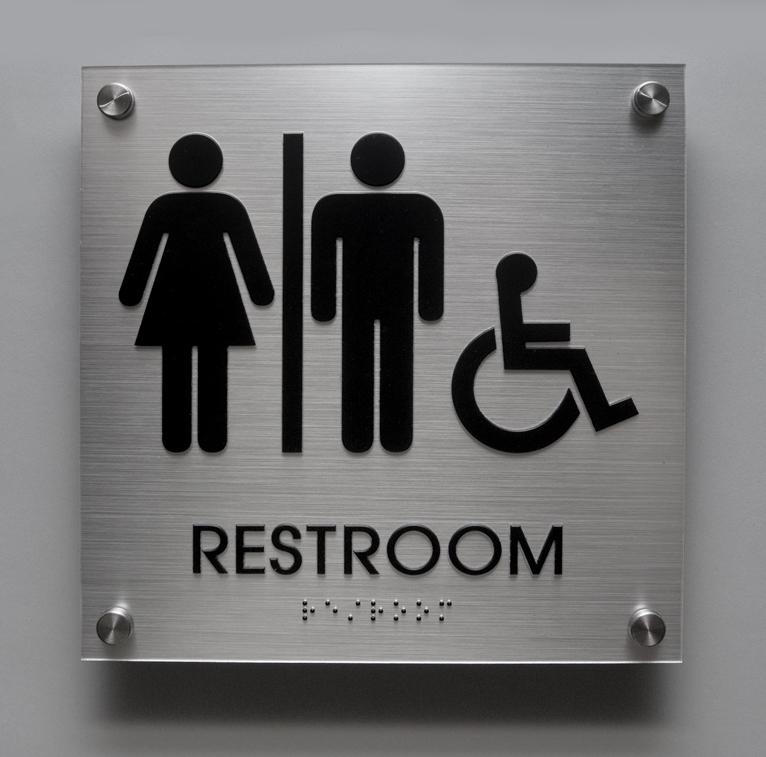 Commercial Bathroom Signs