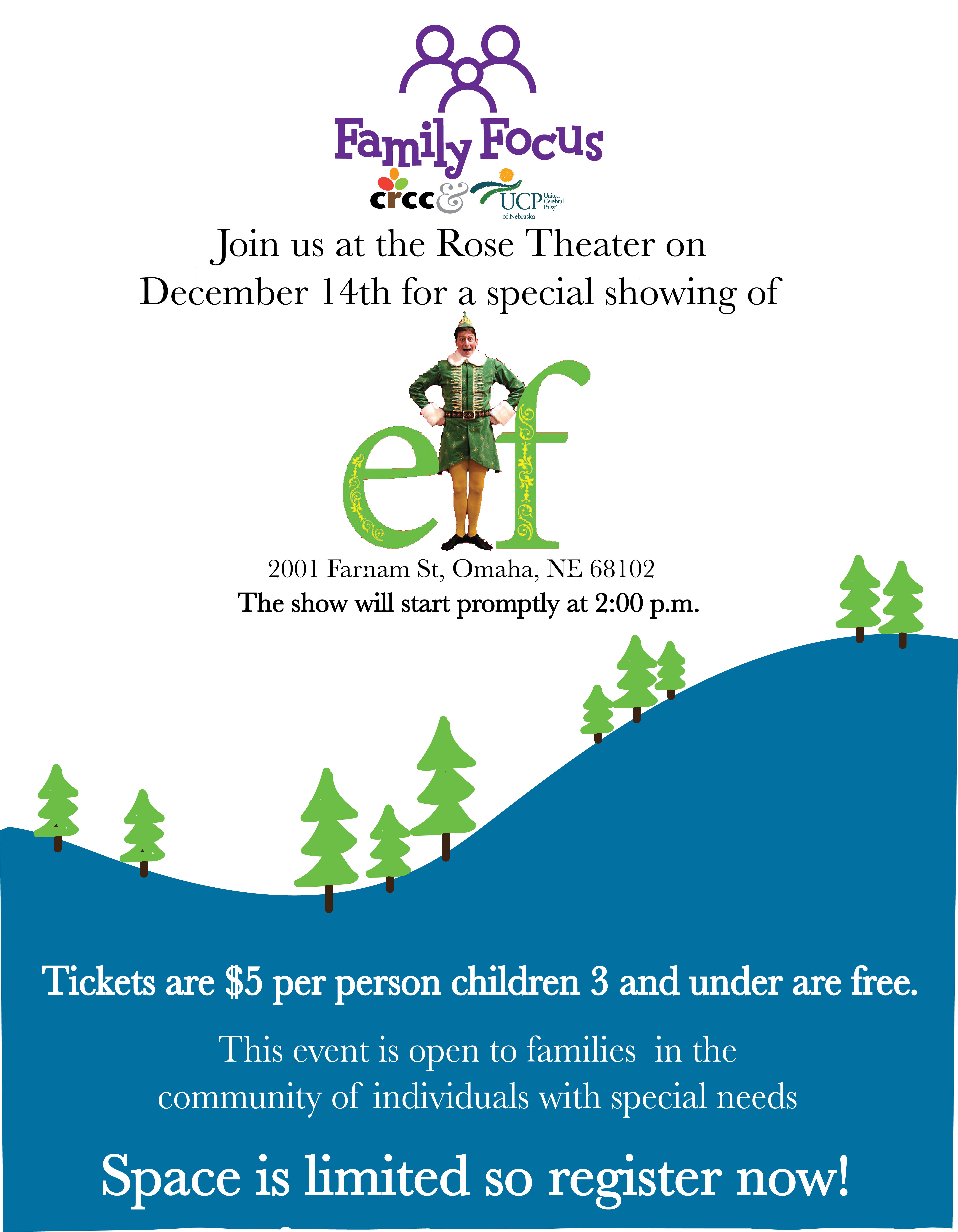 Family Focus- Elf the Musical