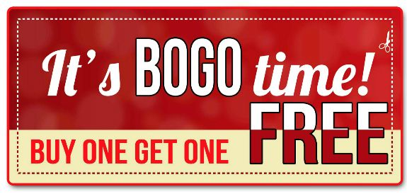 Buy One Get One Promo