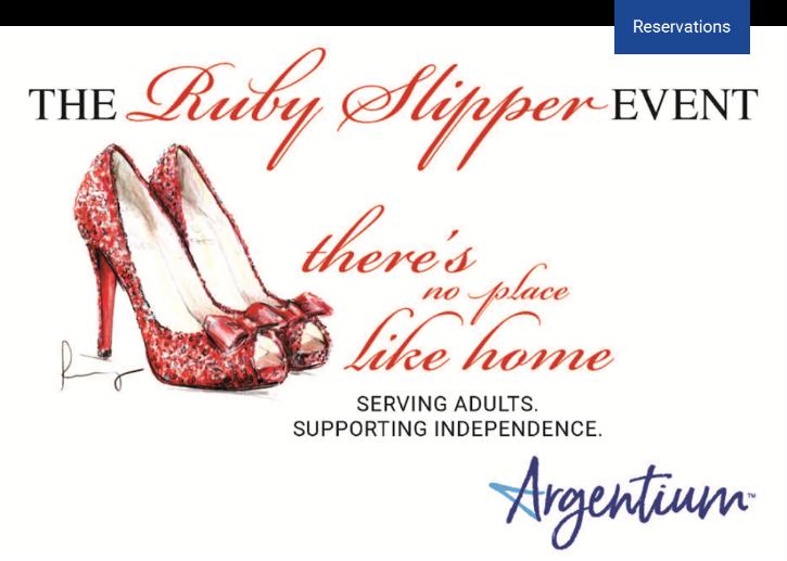 2019 Ruby Slipper Event Invitation