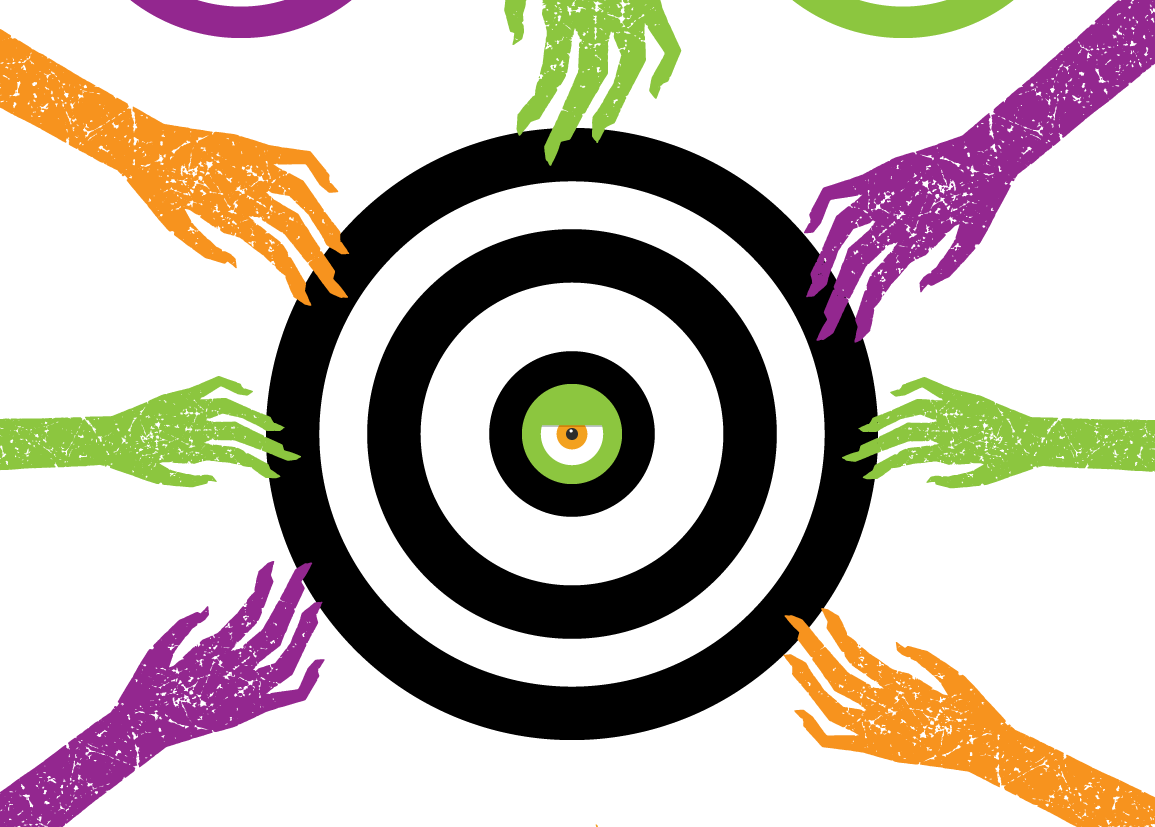 Zombie Target Printable