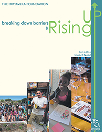"Annual Impact Report - ""Breaking Down Barriers & Rising Up"""