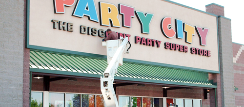 Sign installation in Bend Oregon