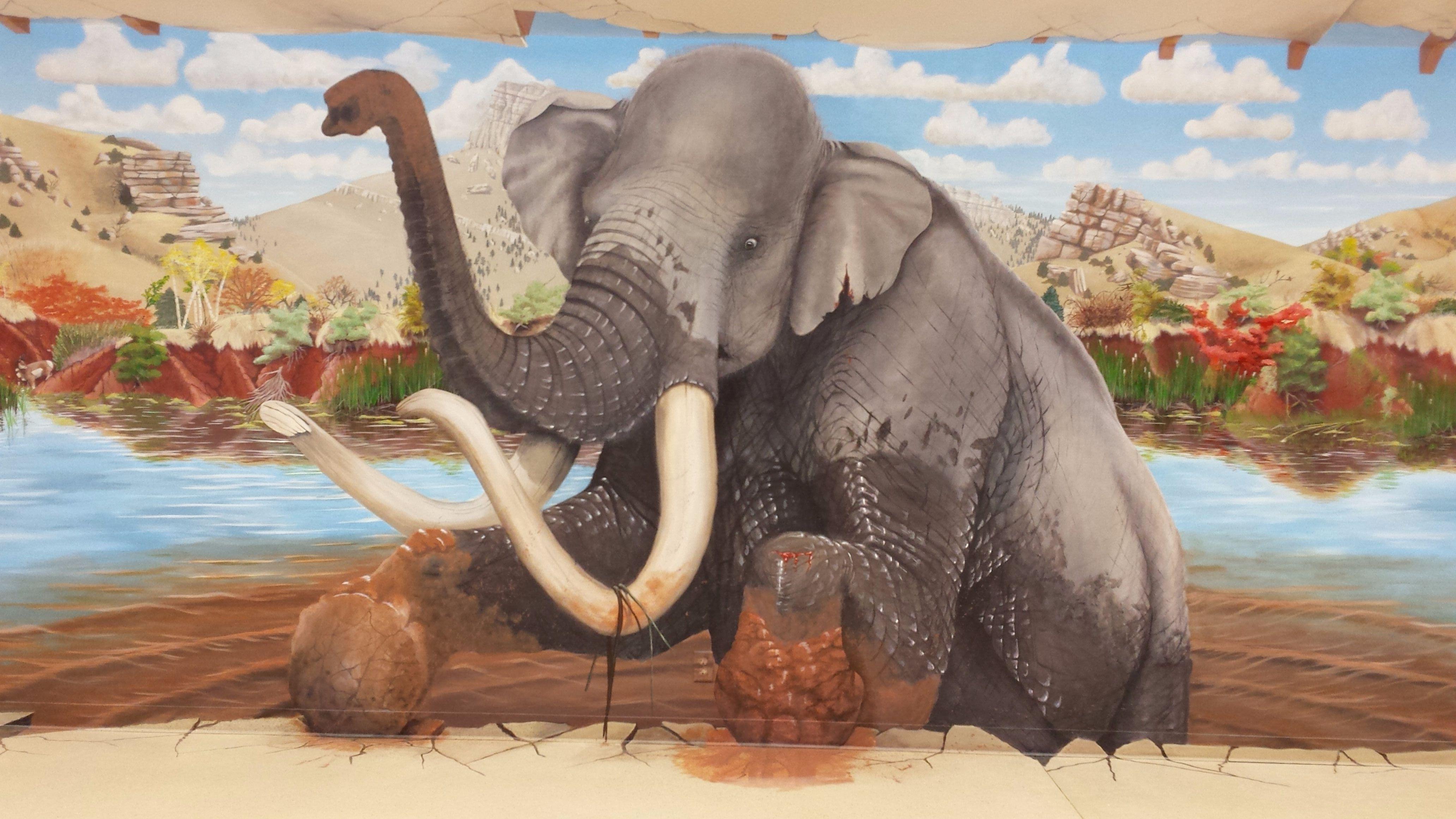 Mammoth Mural