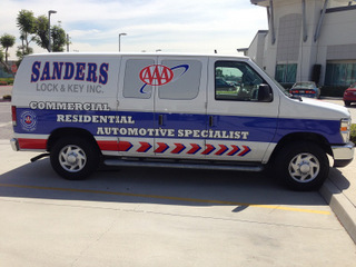What are vehicle wraps made of in Orange County