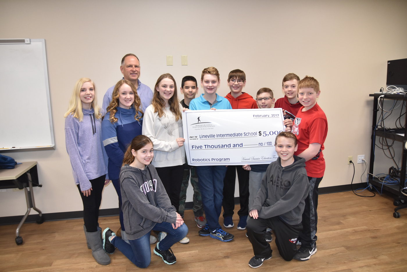 HSEF Grant to Support Robotics Program at Lineville – NBC 26 Partners in Education Report