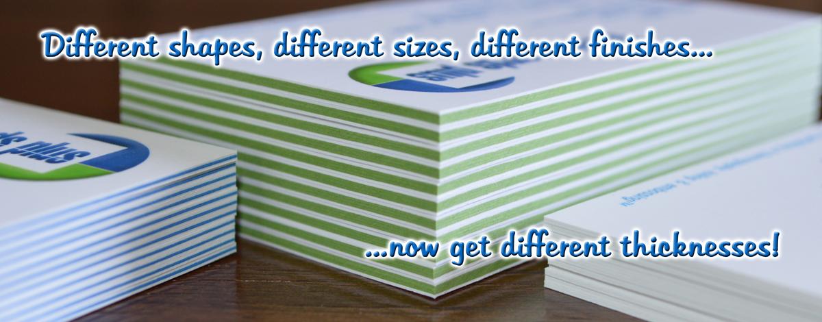 Multi-Plex Business Cards
