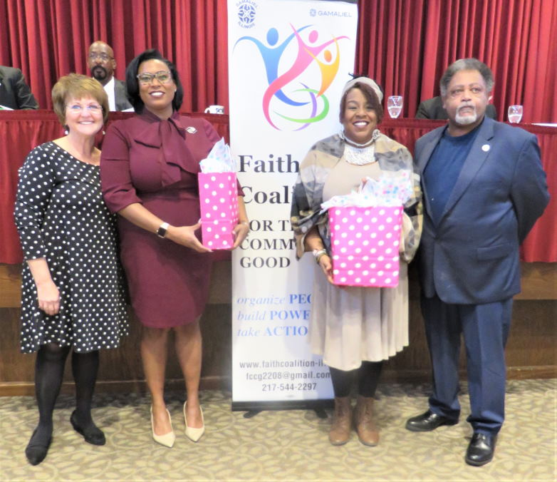 The Faith Coalition for the Common Good Annual Breakfast Fundraiser on March 5th 2020 at Westminster Presbyterian Church in Sprinfield, IL.