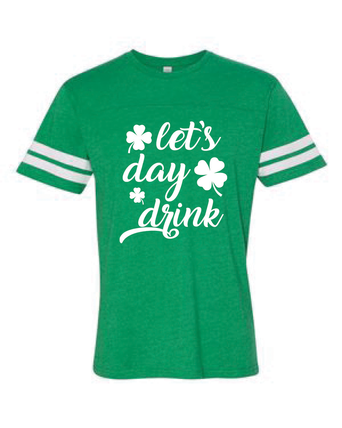 Football Style Jersey Tee (LET'S DAY DRINK)