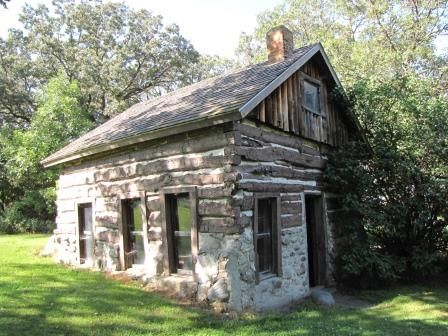 Mortimer Cabin in Oak Lakes State Park listed in National Register of Historic Places