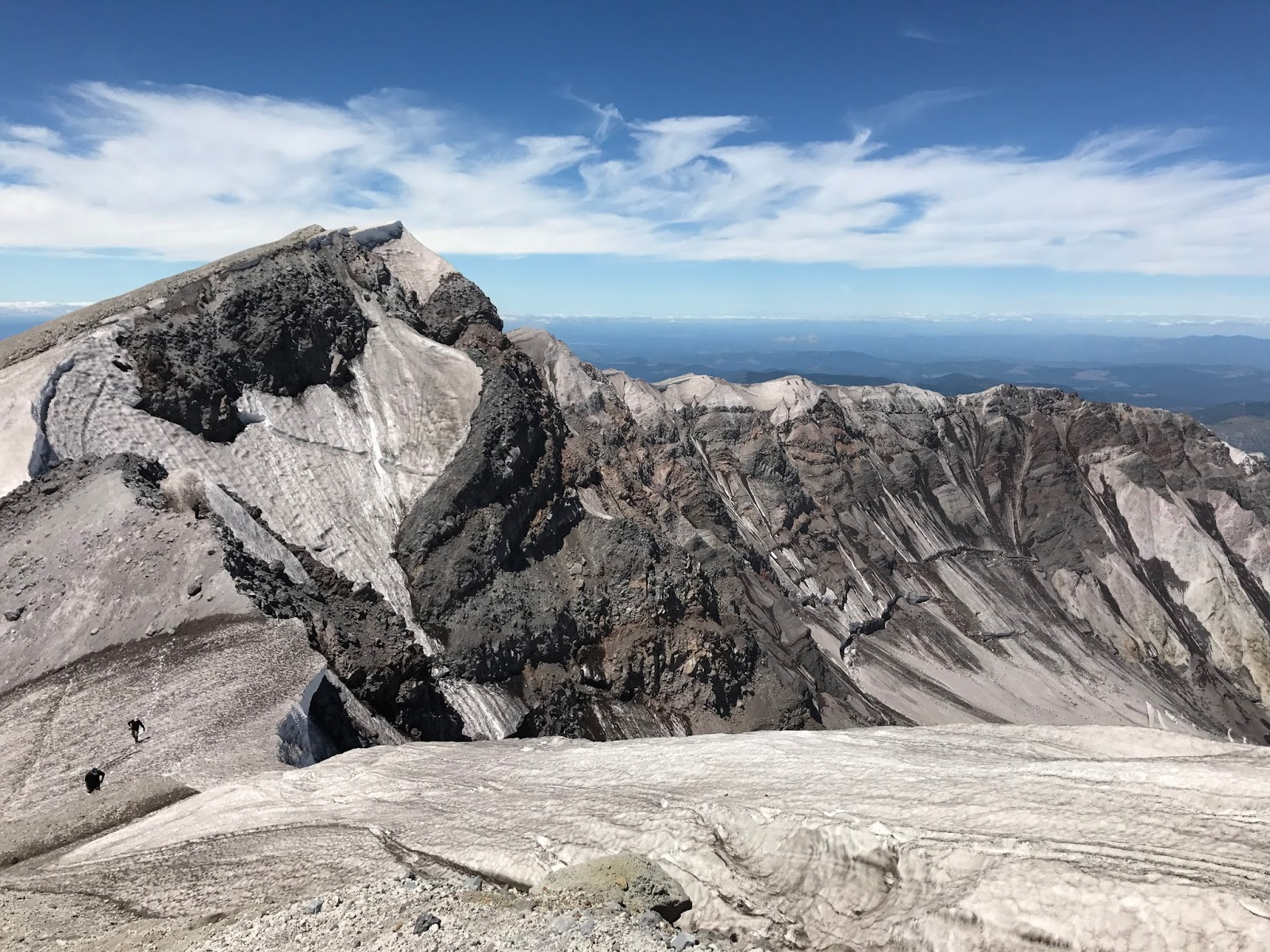 Summit with a Geologist