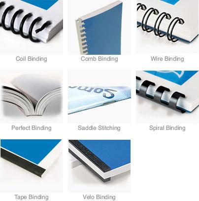 Velo / Wire / Comb Binding