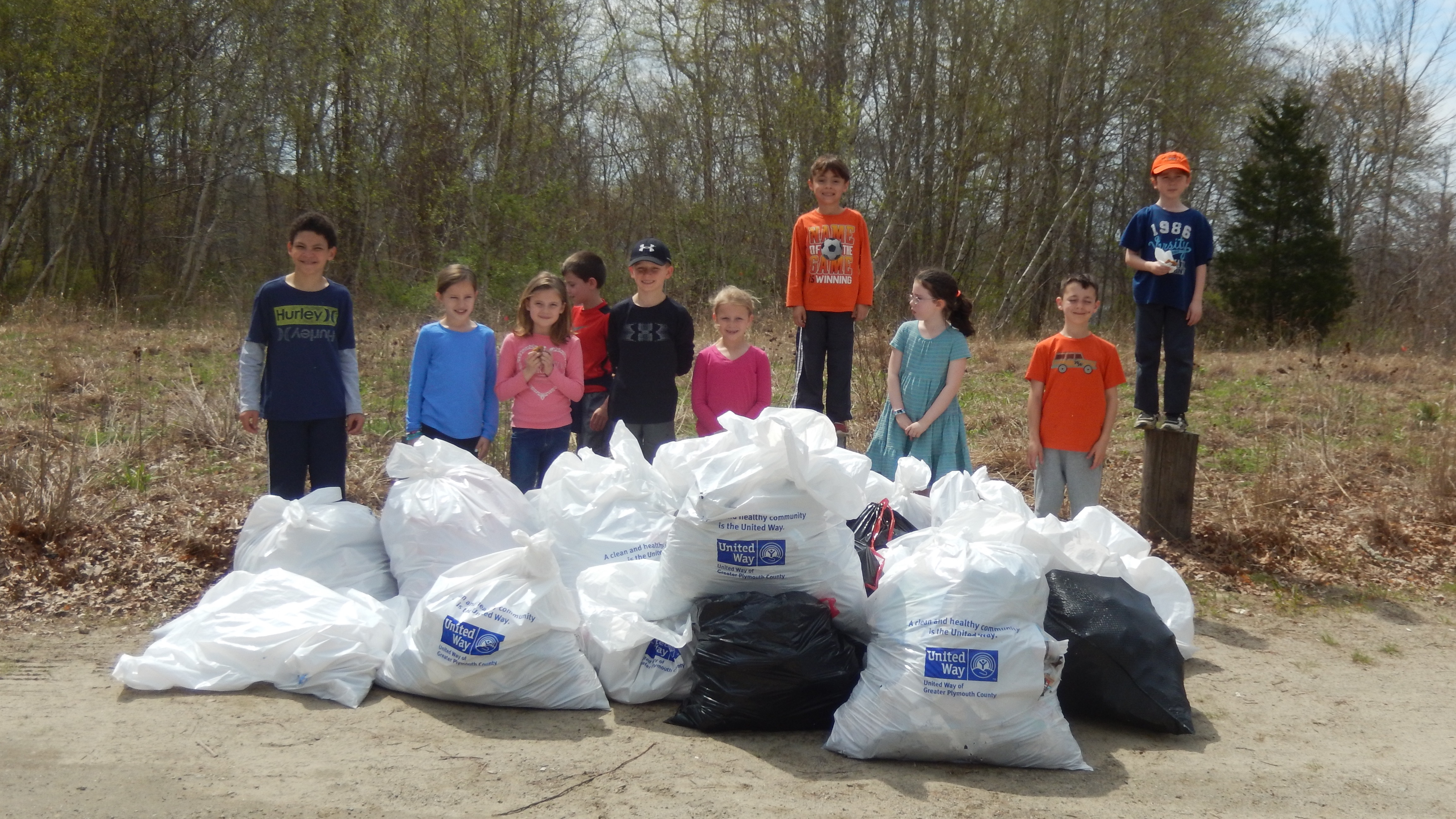 Park Serve Day at Upton State Forest
