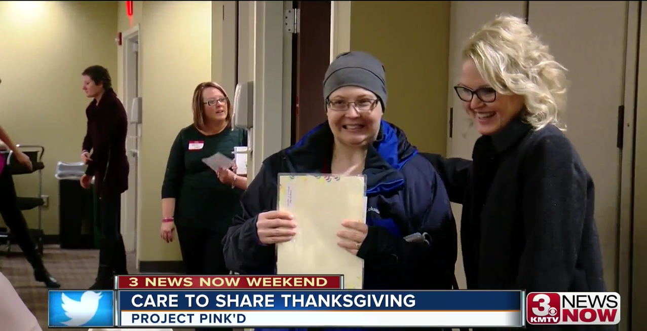 Project Pink'd Care To Share Thanksgiving