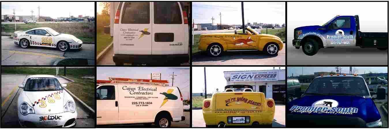 Vehicle Wraps & Graphics
