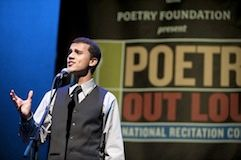 Youssef Biaz, Poetry Out Loud National Finalist