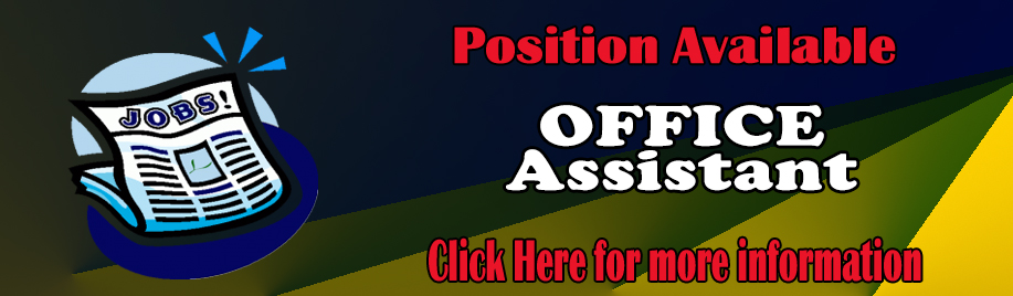 Office Assistant - Job Notice