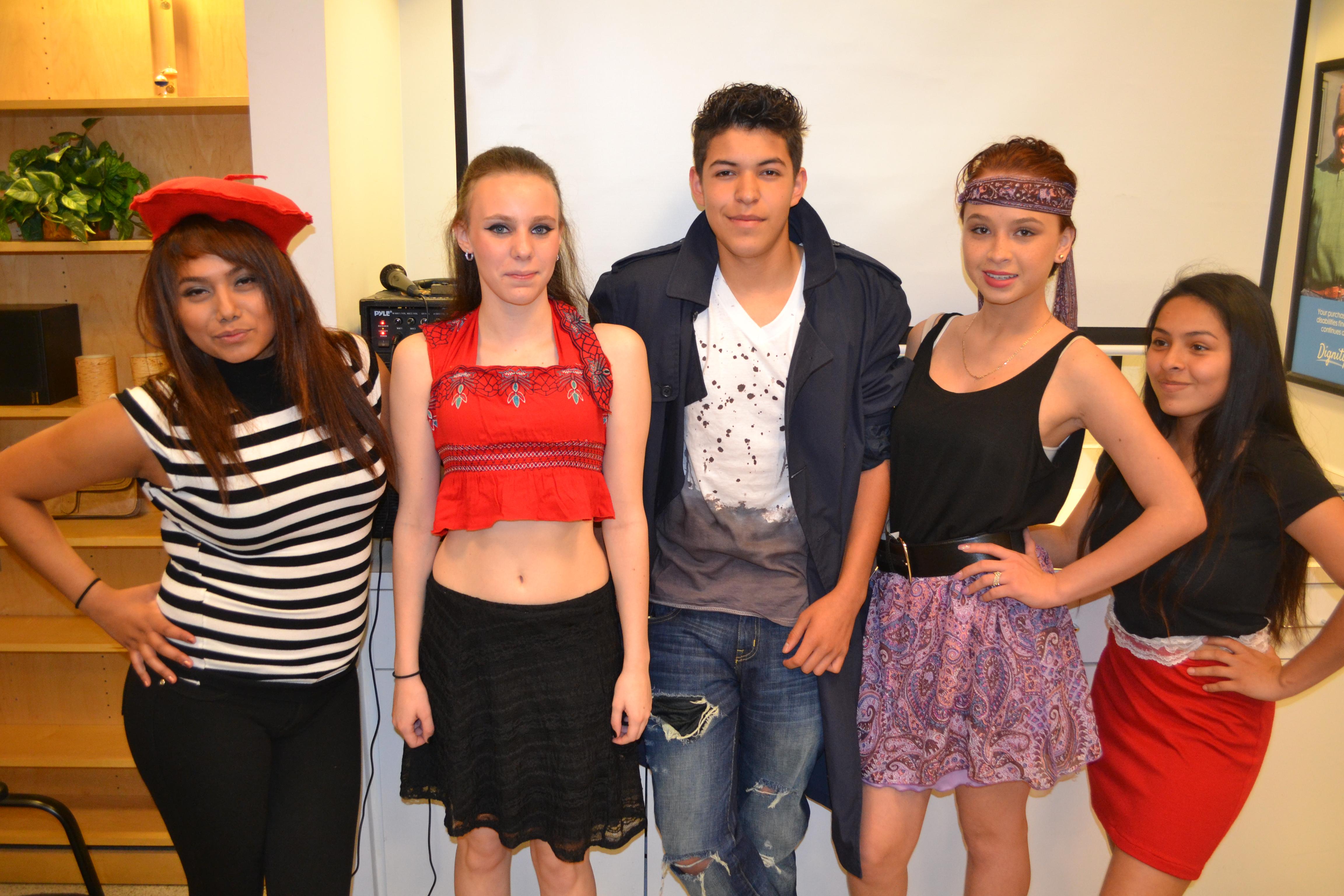 Northglenn High School students model in fashion show at Goodwill Thornton