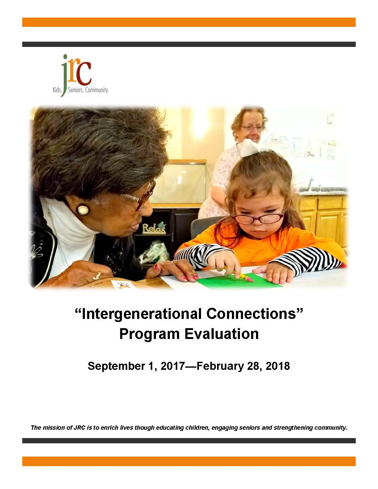 Intergenerational Connections Evaluation Report