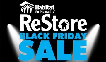 Black Friday at Habitat ReStores