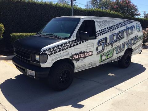 Ford Van wraps Orange County