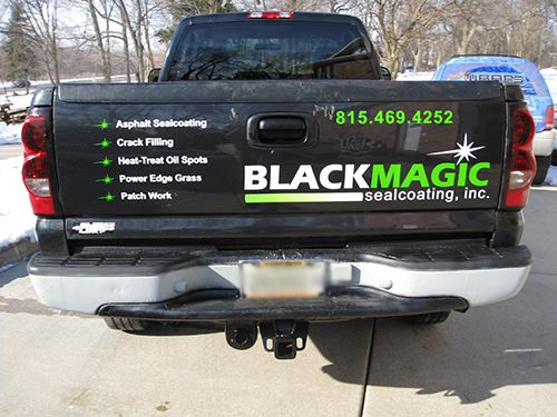 Black Magic tailgate