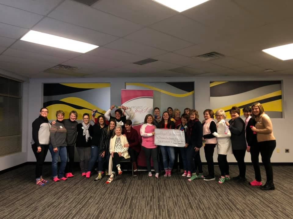 Women Raises Over $10,000 for Project Pink'd