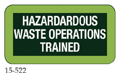 Hazardous Waste Operations Trained