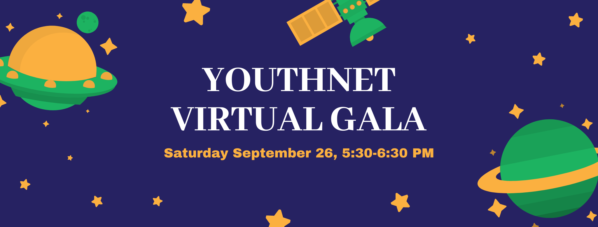 Youthnet Virtual Gala