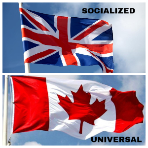 Socialized vs. Universal