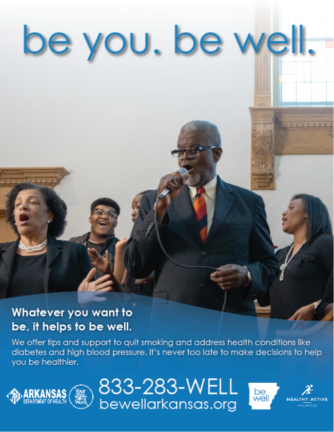 Be Well Church Choir Poster