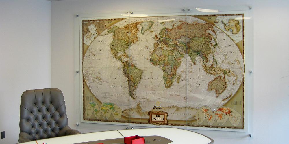 World Domination Map