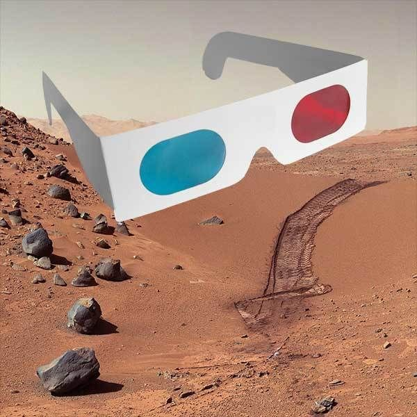 Family Activity: MARS in 3D