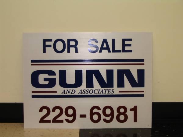 Real Estate For Sale Signage
