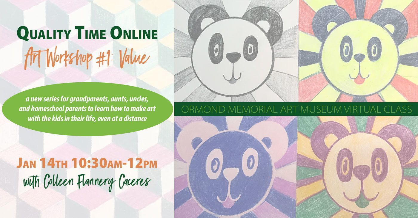 Quality Time Online - Art Workshop 1: Value