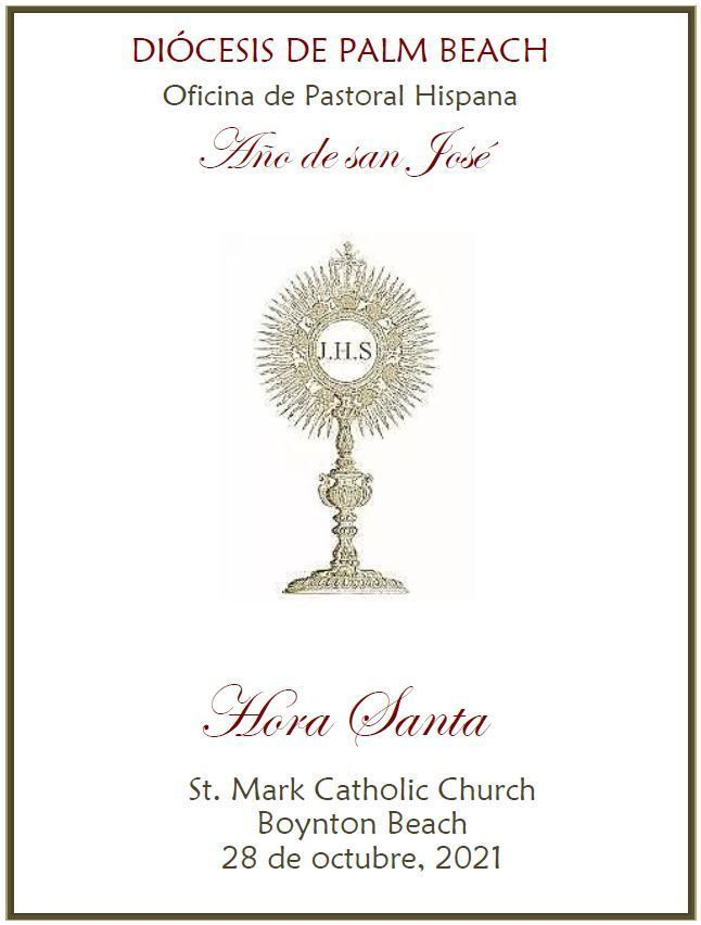 Hora Santa - St. Mark