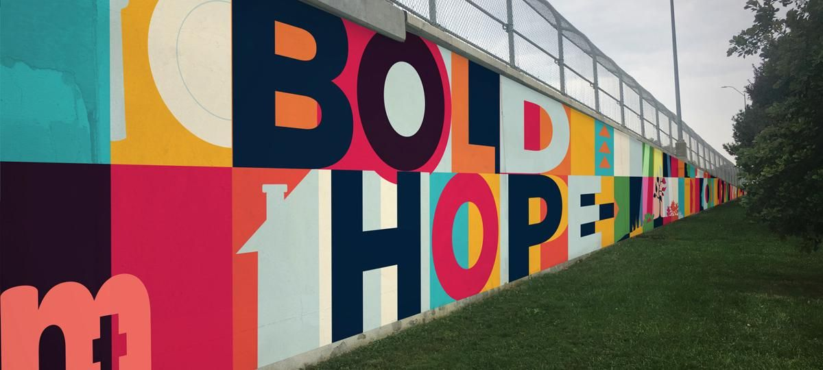 Bold Hope Mural to be Installed This Summer