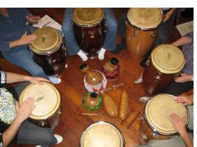 Drumming Circle Demonstration