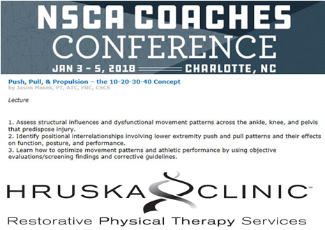 Jason to present at NSCA Coaches conference