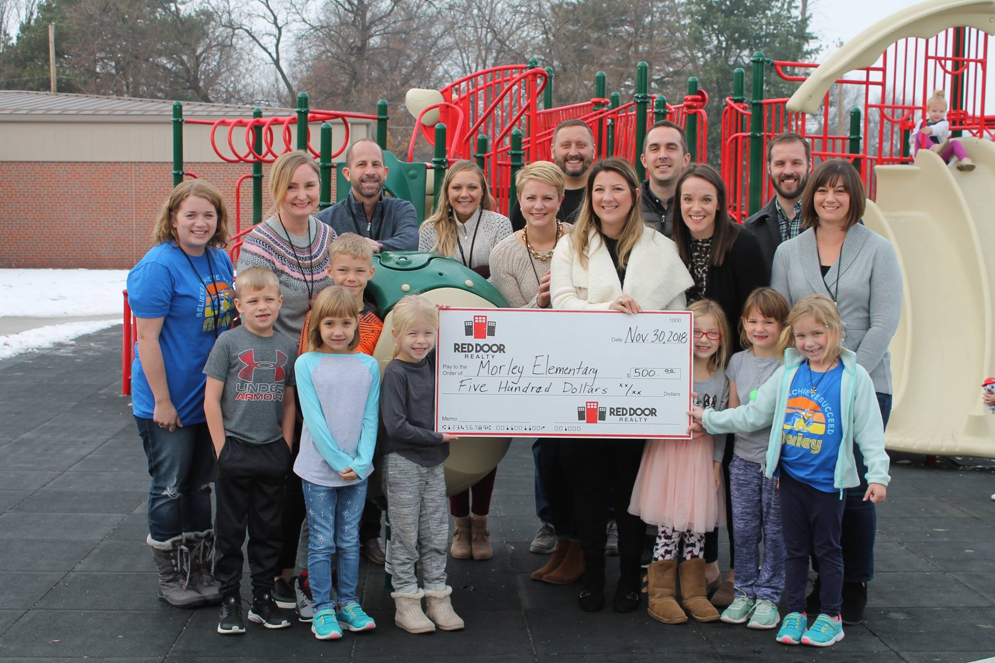 Morley Elementary School Playground Fund