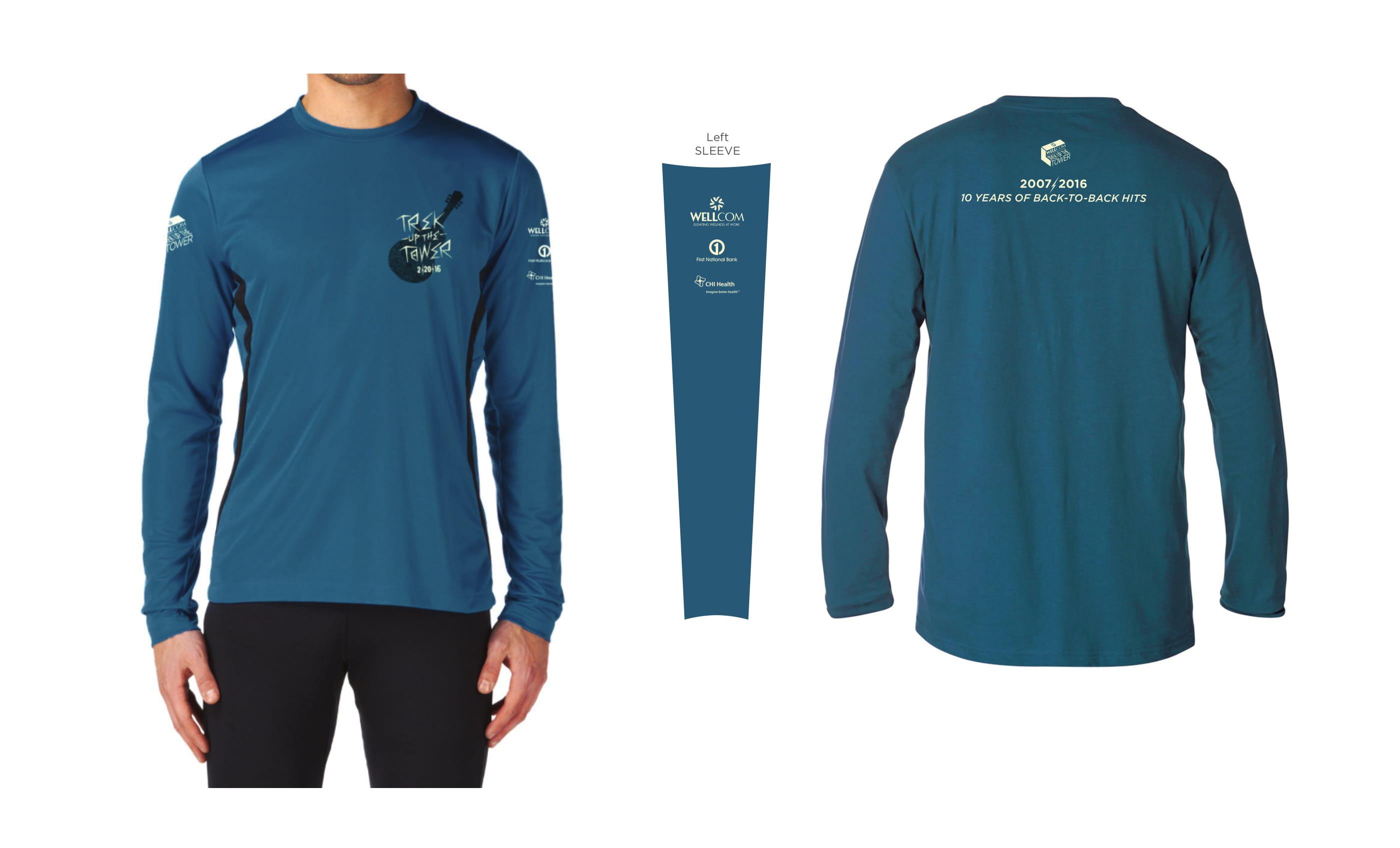 2016 Trek Up the Tower Participant Shirt